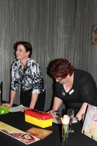 Book Signing Session: Karen and Natalie at Heartkids High Tea 12/8/12