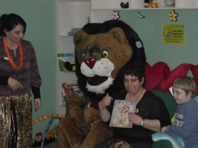 It was wonderful to be invited to so many schools, pre-schools and playgroups during the Book Week period.